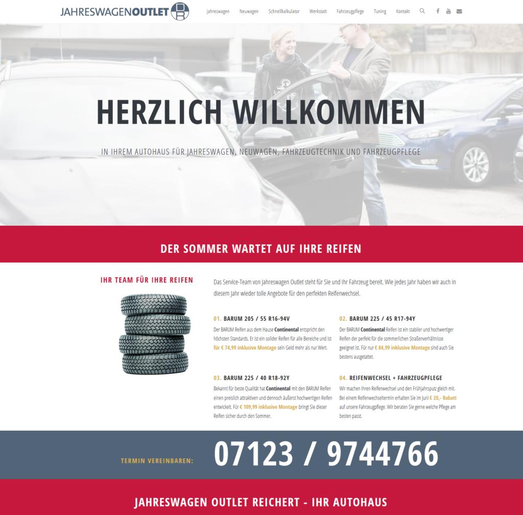 Jahreswagen Outlet Reichert GmbH